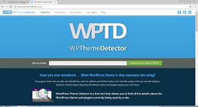 تشخیص سیستم مدیریت محتوا سایت باسایتwpthemedetector.com