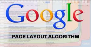 پیج لایوت (طرح بندی) الگوریتم جدید گوگل