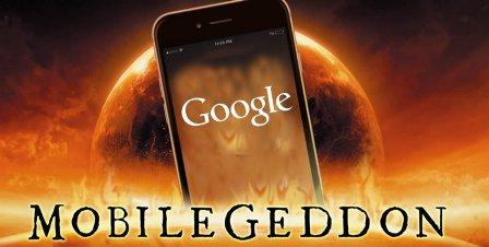 الگوریتم موبایل گدون گوگل
