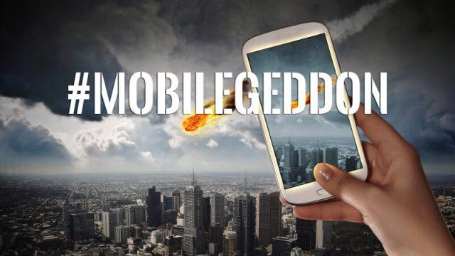 الگوریتم Mobilegeddon گوگل