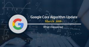 آپدیت جدید هسته گوگل خرداد ۹۸-۲۰۱۹