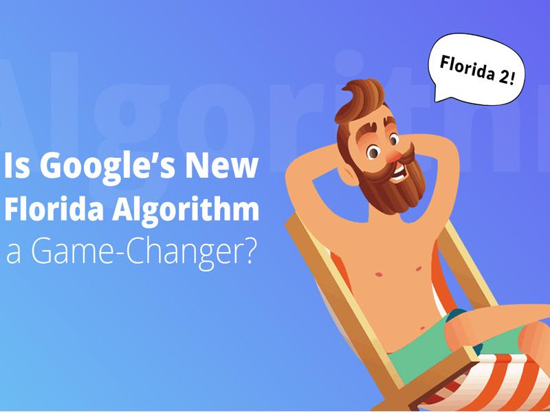 فلوریدا الگوریتم جدید گوگل