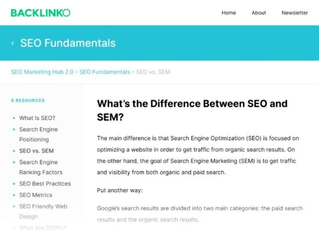 تفاوت SEO در مقابل SEM؟